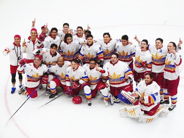 "The Philippine ice-hockey players´ ""Golden"" achievement with SportMind in their background"