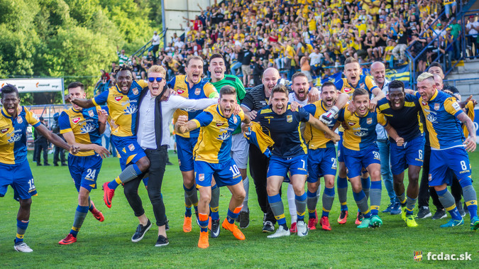 DAC DUNAJSKA STREDA In Europe League After 25 Years!